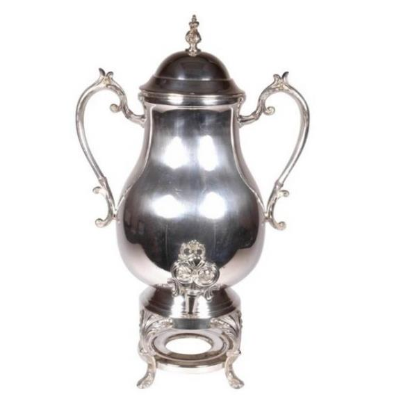 Where to find URN SAMOVAR 50 CUP SILVER in Hamilton