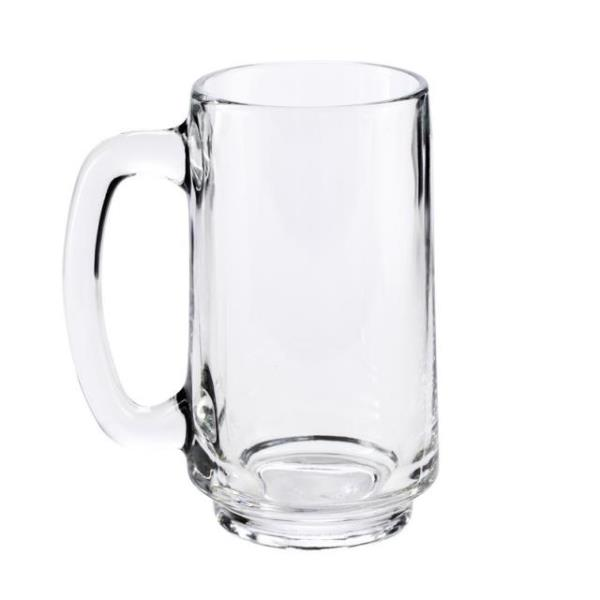 Where to find MUG GLASS BEER 12.5 oz. 16 in Hamilton