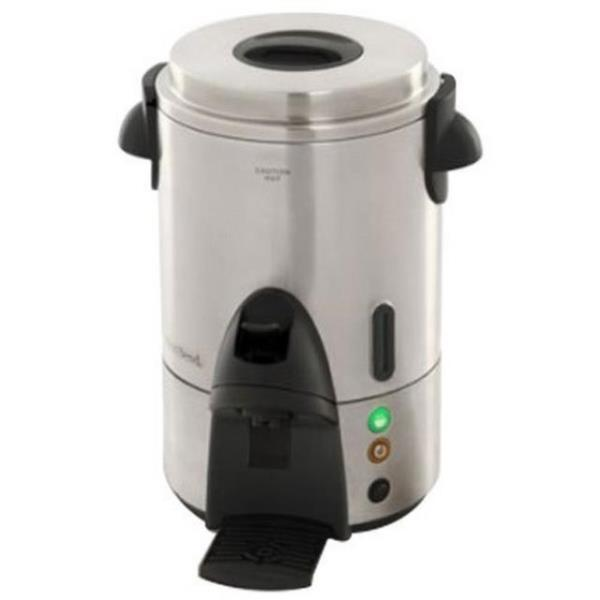 Where to find COFFEE MAKER, 60 CUP STAINLESS in Hamilton