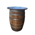 Rental store for 30  ROUND WINE BARREL HIGH TOP TABLE in Hamilton NJ