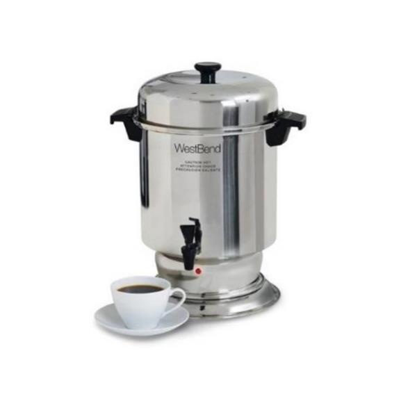 Where to find COFFEE MAKER, 55 CUP STAINLESS in Hamilton